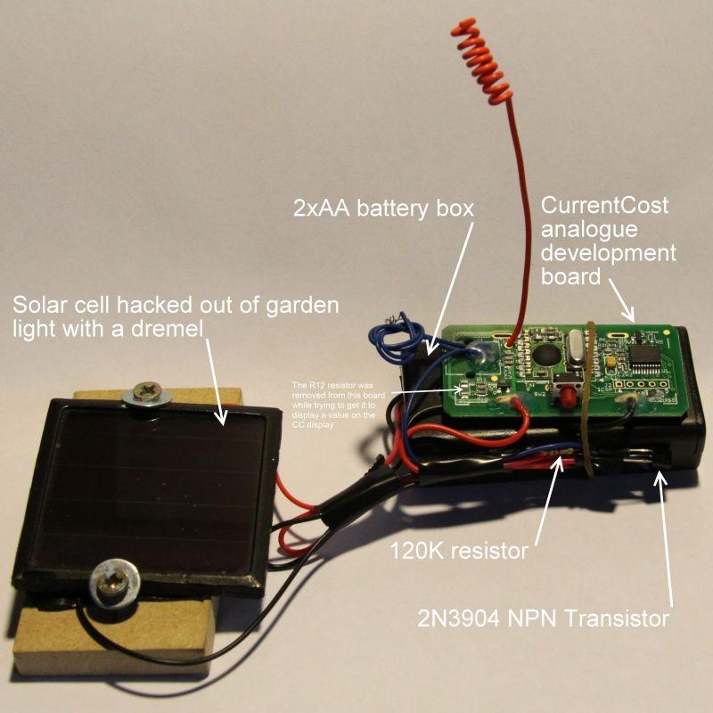 The finished sensor